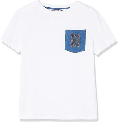 Marca Amazon - RED WAGON Camiseta con Bolsillo para Niño