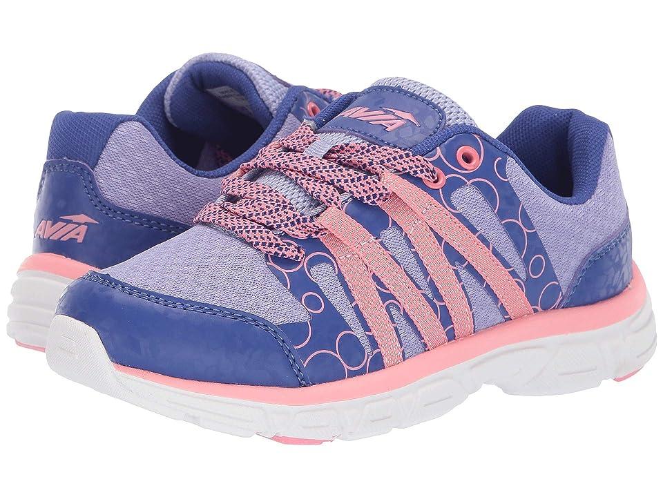 Avia Kids Rhea (Little Kid/Big Kid) (Sodalite Blue/lced Periwinkle/Crayon Pink) Girls Shoes