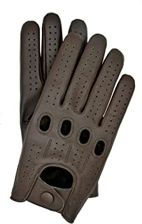 Riparo Genuine Leather Full-finger Driving Gloves