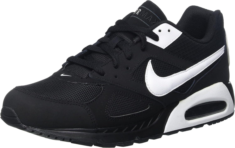 Nike Air Max Ivo, Chaussures de Gymnastique Homme, (Noir Blanc), 47.5 EU
