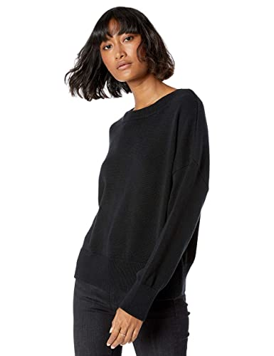 The Drop Women's Camila Soft Slouchy Crew Neck Sweater