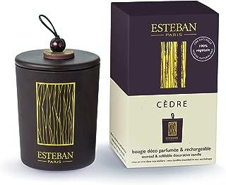 Esteban Paris - Cedre - Refillable Scented Candle