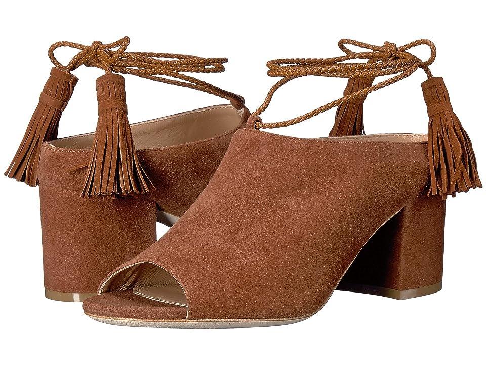 Racine Carree Abir (Deer Brown Suede) High Heels