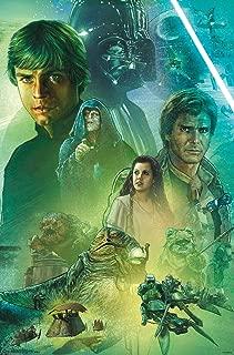 Trends International Star Wars: Return of The Jedi - Celebration Mural Wall Poster, 22.375