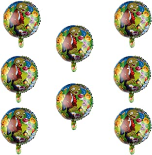 8 Pcs Plants VS Zombies Balloons Party Supplies 18