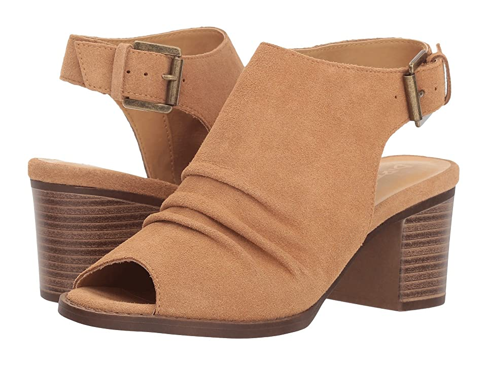 Dirty Laundry Tena Split Suede (Camel) Women