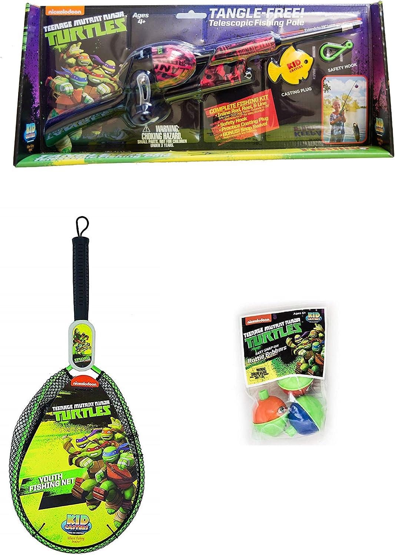 Sales for sale Teenage Mutant Max 88% OFF Ninja Turtles - Fishing No Telescopic Kids Kit