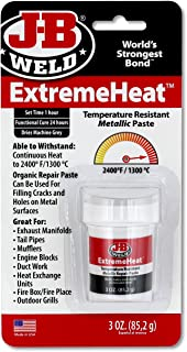 J-B Weld 37901 ExtremeHeat High Temperature Resistant Metallic Paste - 3 oz