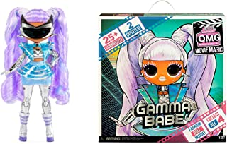 LOL Surprise OMG Movie Magic Gamma Babe Fashion Doll with 25 Surprises Including 2 Fashion Outfits, 3D Glasses, Movie Acce...