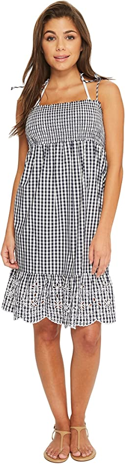 Tory Burch Swimwear - Gingham Beach Dress Cover-Up