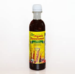 Organic Sweetener COCONUT SAP HONEY-Syrup Manila Coco ™ -16 oz : Concentrated all natural sweet pure nectar from coconut fruit tree : Lower Glycemic Index @ 35 than Agave Syrup @ 42 or Bee Honey @ 55 : Lower calories @ 15 per serving than Maple @ 40