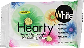 Activa Hearty 超轻造型粘土(1.75 盎司) 白色 1.75 oz C-1305