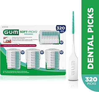 GUM Soft-Picks Original Dental Picks, 320 Count