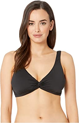 Pearl Underwire Over the Shoulder Twist Front Bra