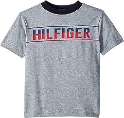 aac9a110205ae Tommy hilfiger kids matt logo hilfiger hoodie toddler little kids at ...