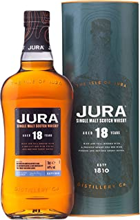 Jura 18 Years Old Single Malt Scotch Whisky mit Geschenkverpackung 1 x 0.7 l