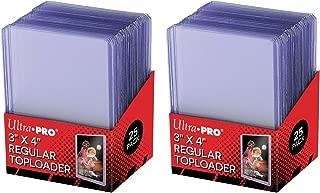 Ultra Pro Clear Regular Toploader 3