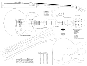 Best electric guitar technical drawing Reviews