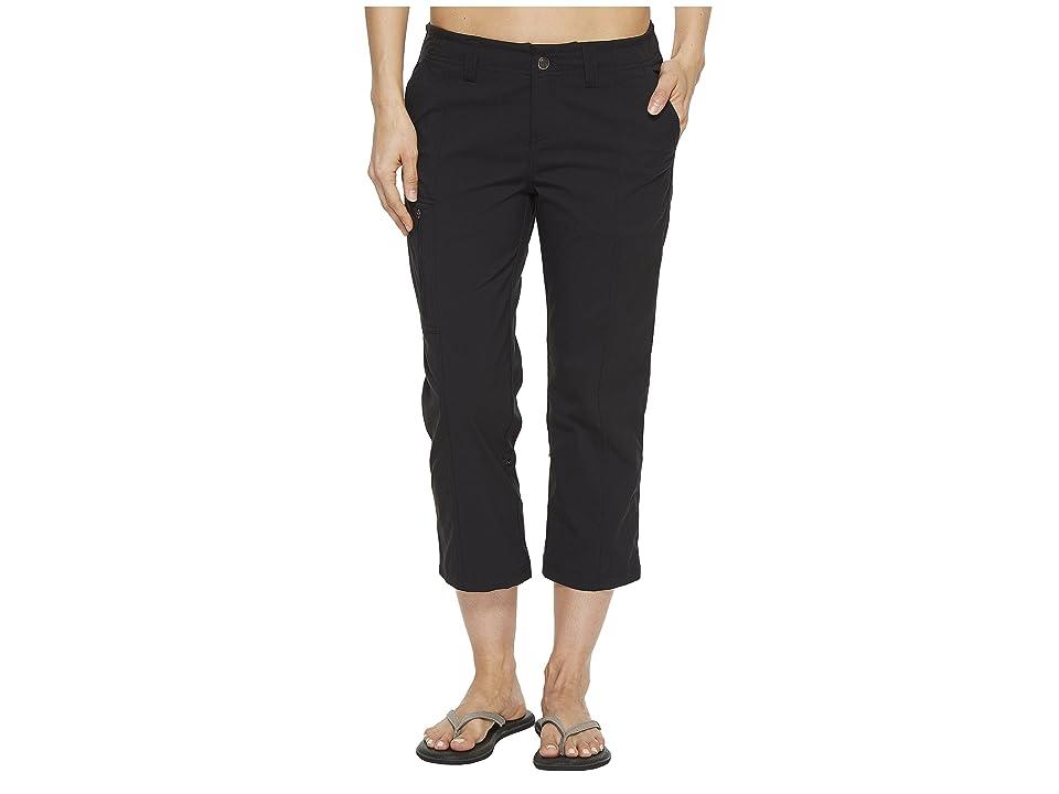 Royal Robbins Discovery Capri Pants (Jet Black 1) Women