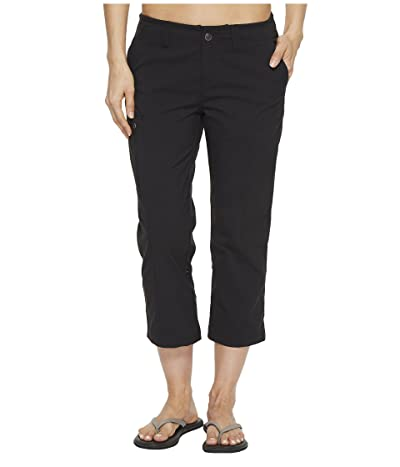 Royal Robbins Discovery Capri Pants (Jet Black 1) Women