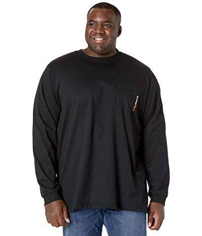 Timberland PRO Extended FR Cotton Core Long-Sleeve Pocket T-Shirt with Logo