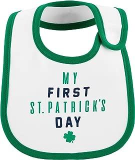 Carter's St. Patrick's Day Teething Bib- Green
