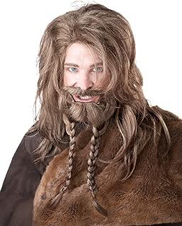 California Costumes Women's Viking Wig Beard and Moustache