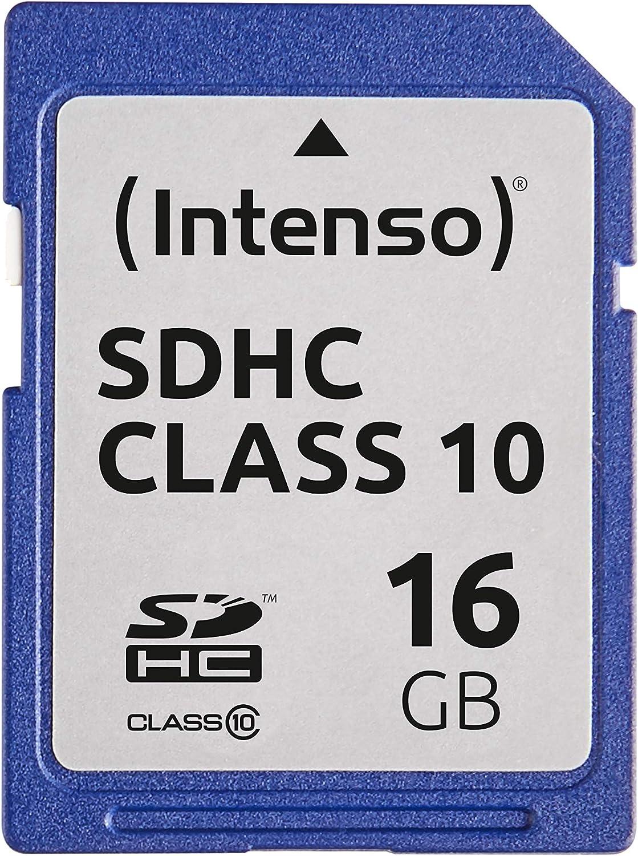 Intenso Sdhc 4gb Class 4 Speicherkarte Blau Computer Zubehör