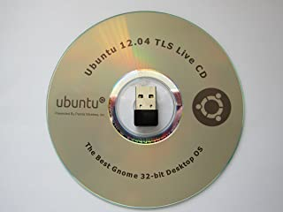 Ubuntu 12.04 Live CD + WiFI 802.11n 150Mbps USB Adapter