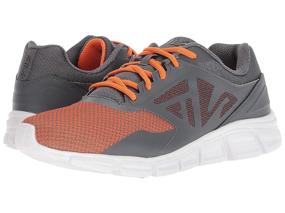 Fila Skyspan Running (Castlerock/Vibrant Orange/White) Men