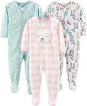 Simple Joys by Carter's 3-Pack Pijama Suelto Bebé-Niña Resistente al Fuego