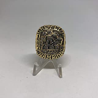 Andrew Stewart Toronto Argonauts High Quality Replica 1997 Grey Cup Ring Size 10-Gold Colored
