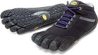 Vibram FiveFingers Women's Trek Ascent Insulated Barefoot Shoes & Toesock Bundle