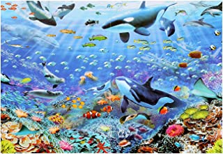 DOTASI 1000 Piece Jigsaw Puzzle, Tropical Fish Puzzles for Adults 1000 Piece Large Puzzle Game Toys Size 27.6 x 19.7In