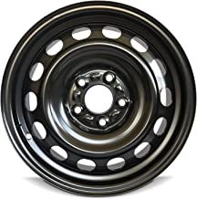 Road Ready Car Wheel For 2010-2013 Mazda 3 16 Inch 5 Lug Black Steel Rim Fits R16 Tire - Exact OEM Replacement - Full-Size Spare