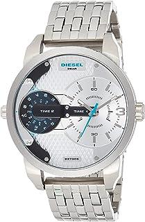 Diesel Mens Quartz Watch, Analog Display and Stainless Steel Strap DZ7305