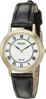 Seiko Women's 'Ladies Dress' Quartz Stainless Steel Dress Watch (Model: SUP304)