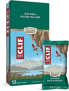 CLIF BARS - Energy Bars - Oatmeal Raisin Walnut - Made with Organic Oats - Plant Based Food - Vegetarian - Kosher (2.4 Oun...