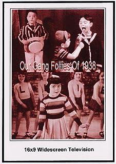 Our Gang Follies of 1938: 16x9 Widescreen TV.