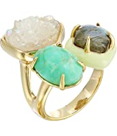 Alexis Bittar - Druzy Stone Cluster Cocktail Ring