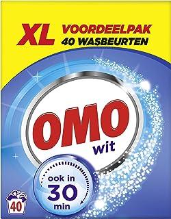 Omo Waspoeder Wit 2.565 kg - 40 Wasbeurten - 1 stuk