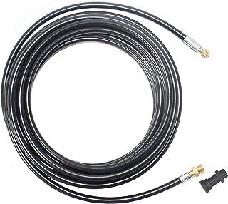 Juego de manguera para máquina limpiadora de alta presión XZT L04-Kar 160 bar compatible con Karcher K1K2 K3K4K5K6K7, nailon, 35FT/10m