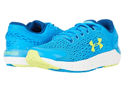 Under Armour Kids Charged Rogue 2 (Big Kid) (Electric Blue/Graphite Blue/Yellow Ray) Boys Shoes