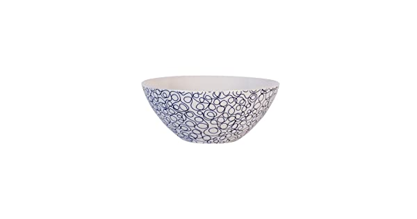 Maxwell /& Williams Designer Homewares AI0056 Print Indigo Coupe bowl One size Assorted