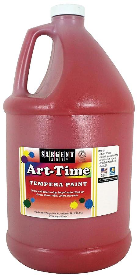 Sargent Art 17-6620 Gallon Red Art-Time Tempera Paint