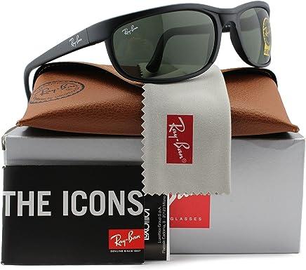 e6af7c403a2 Ray-Ban RB2027 Predator 2 Sunglasses Matte Black w Crystal Green (W1847)