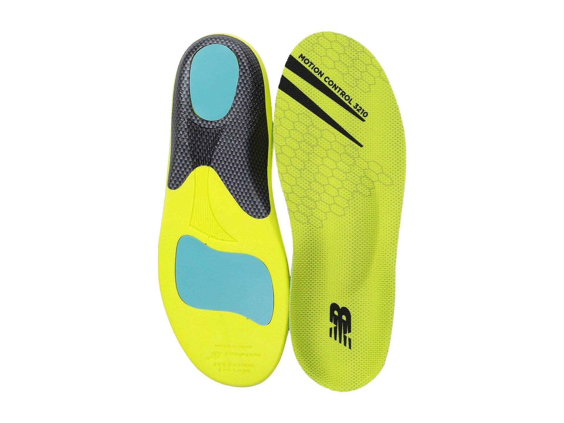 Control Neon New Green Motion Insole Balance qYxwHvp