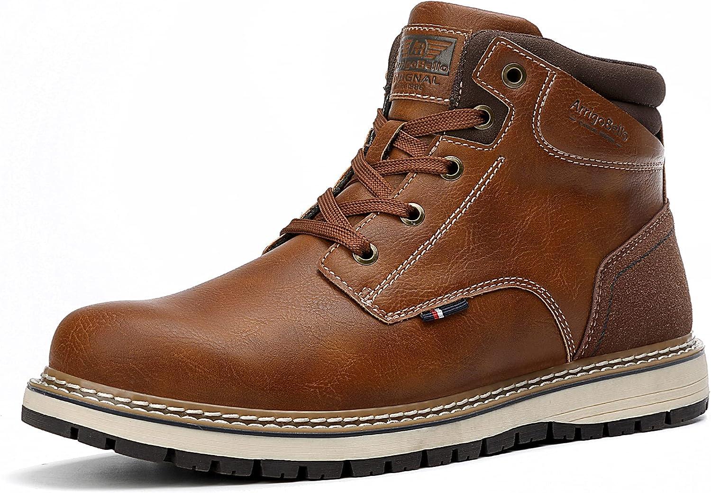 AX BOXING Mens Winter Boots Snow Non Warm Outdoor Super beauty product restock quality top Max 76% OFF Fur Slip