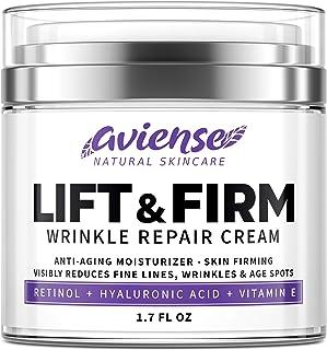 Anti Wrinkle Cream for Face - Retinol & Collagen Anti Aging Cream - Made in USA - Fine Lines & Wrinkle Repair - Retinol Cr...