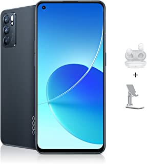 OPPO Reno6 5G Dual SIM Smartphone 128GB 8GB RAM, 65W Super VOOC Flash Charge, 90Hz, NFC, 5G Mobile Phone Unlocked (UAE Ver...